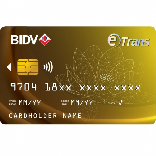 BIDV Etrans Card